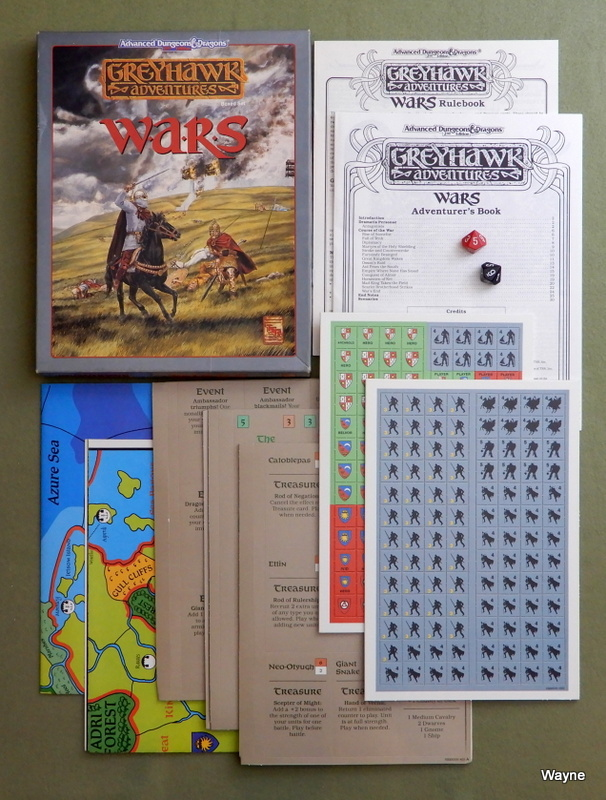 Image for Wars (Advanced Dungeons & Dragons: Greyhawk)