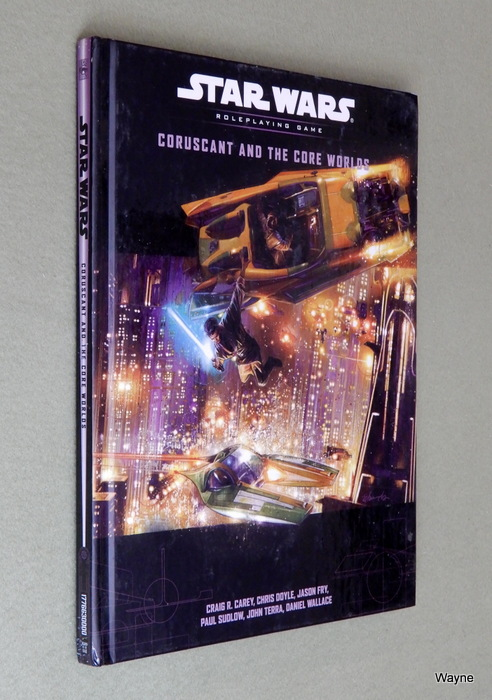 Image for Coruscant and the Core Worlds (Star Wars D20 Roleplaying Game)