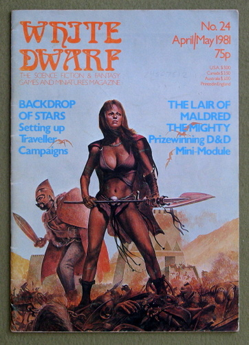 Image for White Dwarf Magazine, Issue 24
