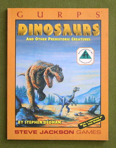Image for GURPS Dinosaurs and Other Prehistoric Creatures