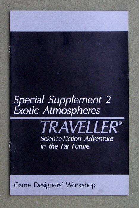 Image for Traveller Special Supplement 2: Exotic Atmospheres