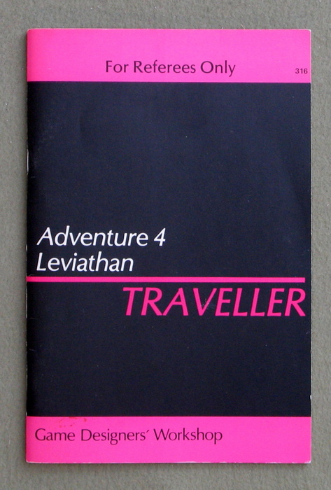 Image for Traveller Adventure 4: Leviathan - 1ST PRINT