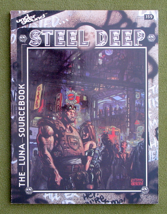 Image for Steel Deep: The Luna Sourcebook (Underground)