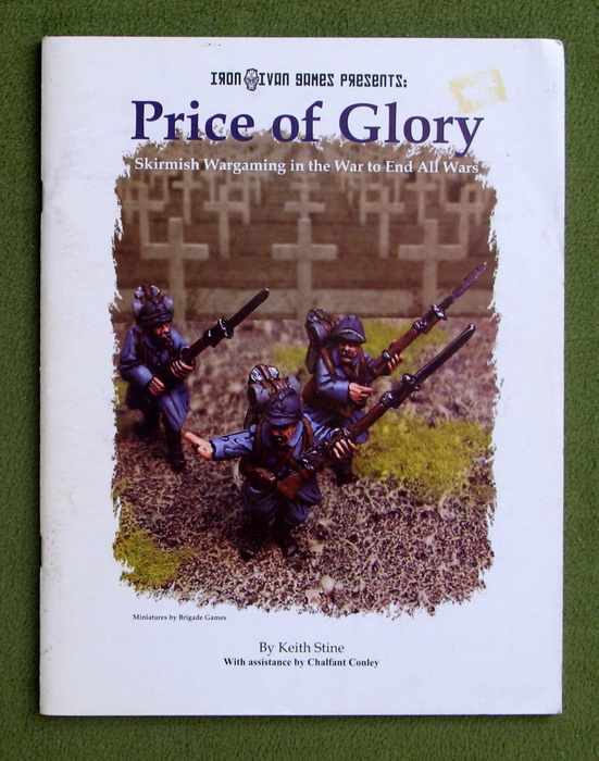 Image for Price of Glory: Skirmish Wargaming in the War to End All Wars