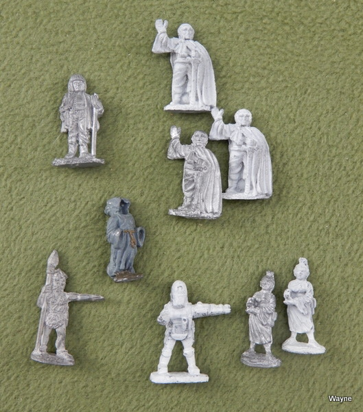 Image for Gamma World Adventurers - EXTRAS (9 Grenadier miniatures)