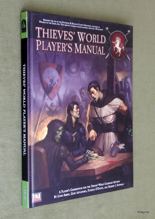 Image for Thieves' World: Player's Manual (Thieves' World d20 3.5 Roleplaying) - STAIN INSIDE COVER