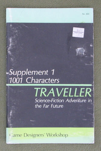 Image for Traveller Supplement 1: 1001 Characters - PLAY COPY