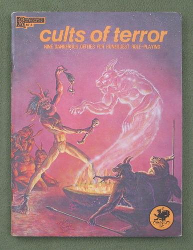 Image for Cults of Terror: Nine Dangerous Deities for Runequest Role-playing