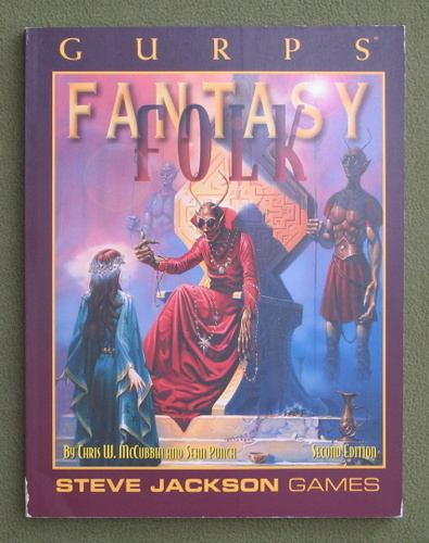 Image for GURPS Fantasy Folk (2nd Edition)
