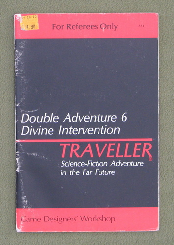 Image for Traveller Double Adventure 6: Divine Intervention / Night of Conquest