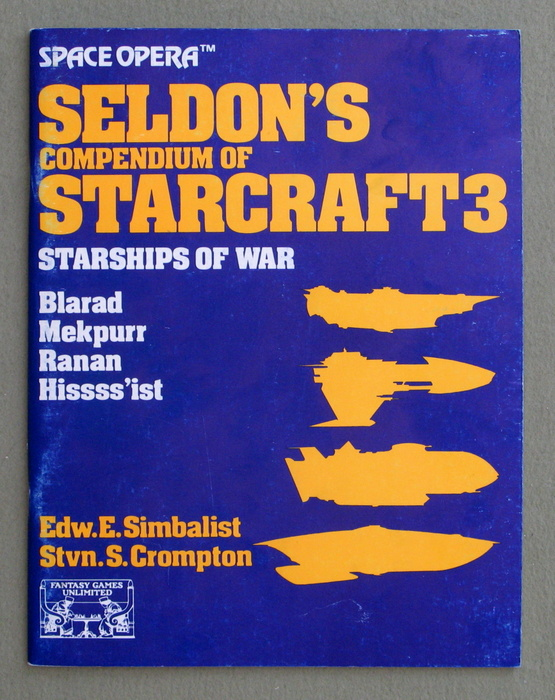 Image for Seldon's Compendium of Star Craft 3: Starships of War (Space Opera RPG)