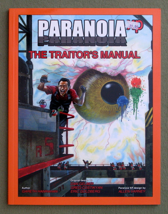 Image for Paranoia XP: The Traitor's Manual
