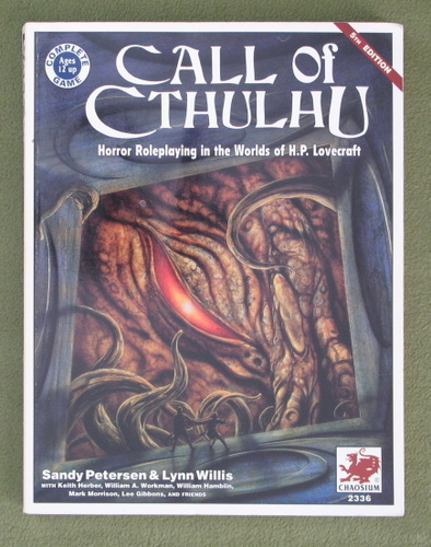 Image for Call of Cthulhu: Horror Roleplaying in the Worlds of H.P. Lovecraft (5th Edition: VERSION 5.1.2)