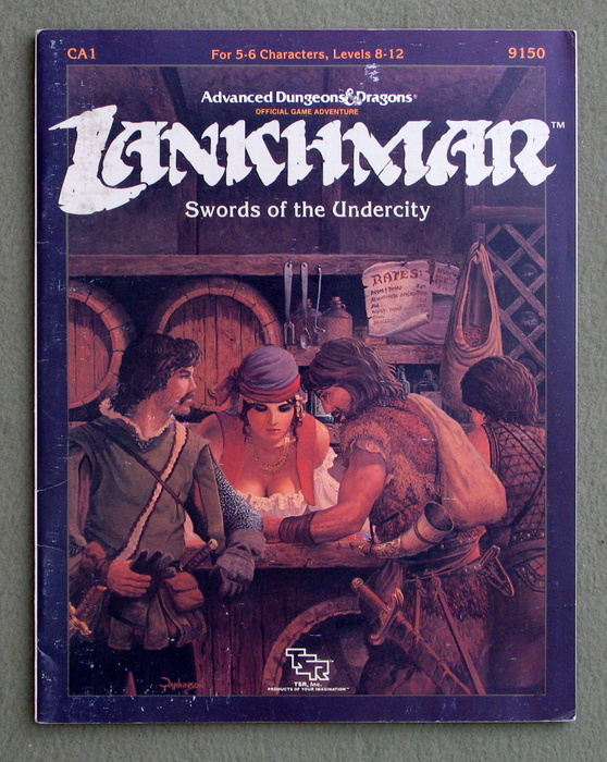 Image for Swords of the Undercity (Advanced Dungeons & Dragons/Lankhmar Module CA1)