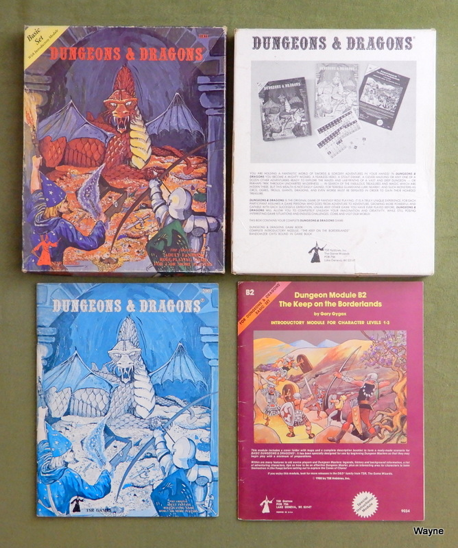 Image for Dungeons and Dragons Basic Set