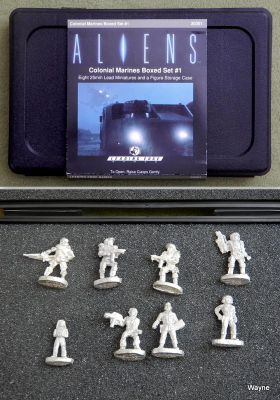 Image for Colonial Marines Boxed Set #1 (Aliens RPG Miniatures)