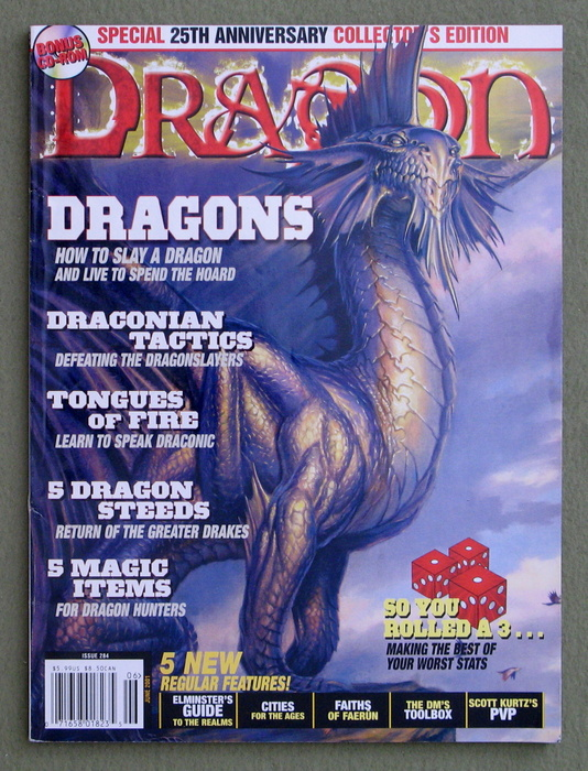 Image for Dragon Magazine, Issue 284 - NO CD-ROM INSERT