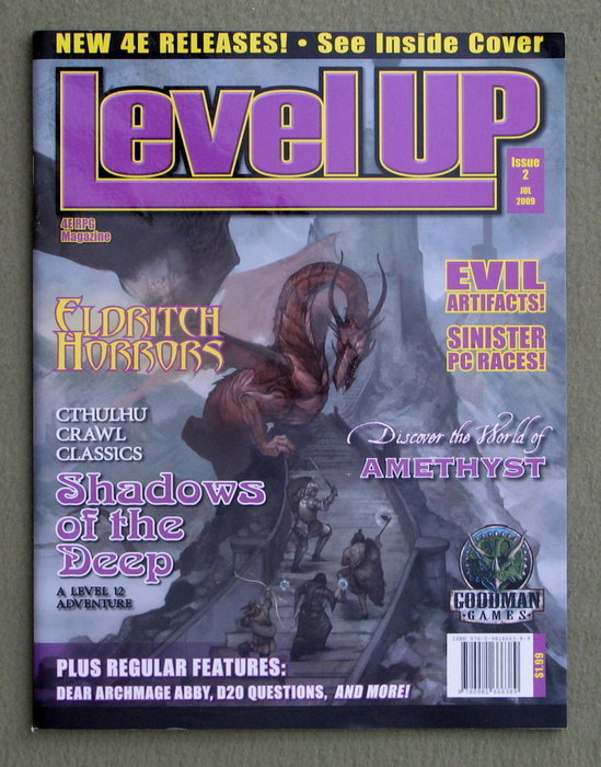 Image for Level Up Magazine, Issue 2 (Dungeons & Dragons, 4th Edition)