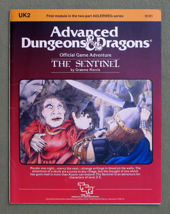 Image for The Sentinel (Advanced Dungeons & Dragons module UK2)