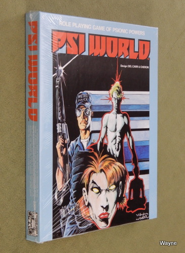 Image for PSI World: Role Playing Game of Psionic Powers