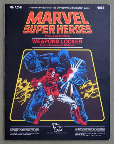 Image for Weapons Locker (Marvel Super Heroes Accessory MHAC8)