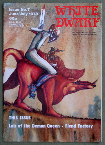 Image for White Dwarf Magazine, Issue 7
