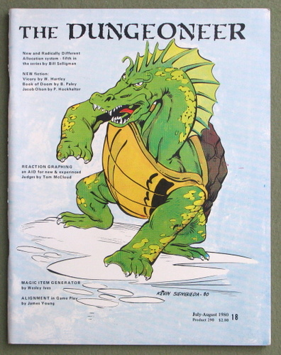 Image for The Dungeoneer Journal, Issue 18 (July/August 1980)
