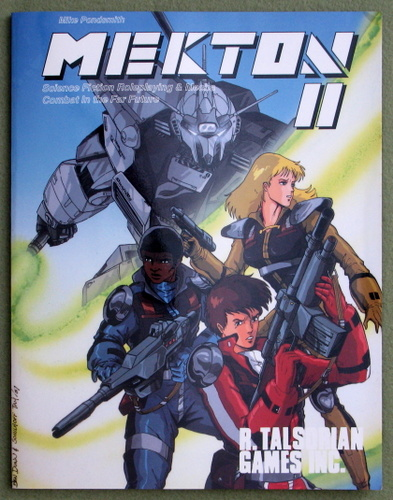 Image for Mekton II: Science Fiction Roleplaying & Mecha Combat in the Far Future