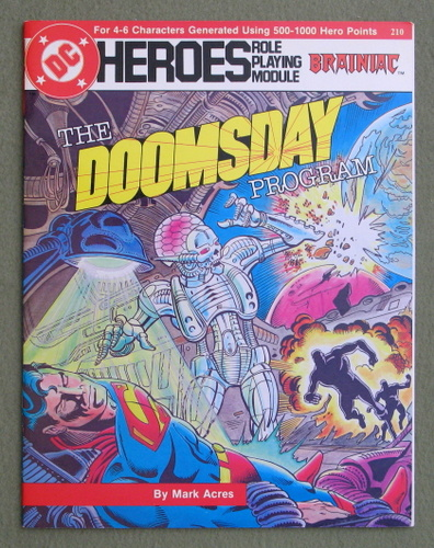 Image for The Doomsday Program (DC Heroes RPG)