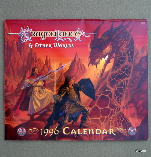 Image for 1996 Dragonlance and Other Worlds Calendar