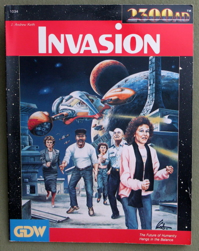 Image for Invasion (2300AD role playing game)