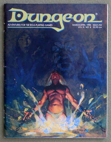 Image for Dungeon Magazine, Issue 52