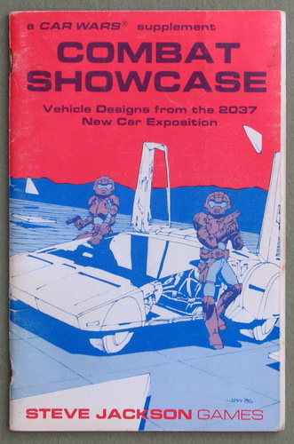 Image for Combat Showcase: Vehicle Designs from the 2037 New Car Exposition (A Car Wars Supplement)