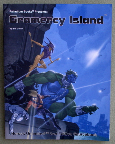 Image for Gramercy Island (Heroes Unlimited)