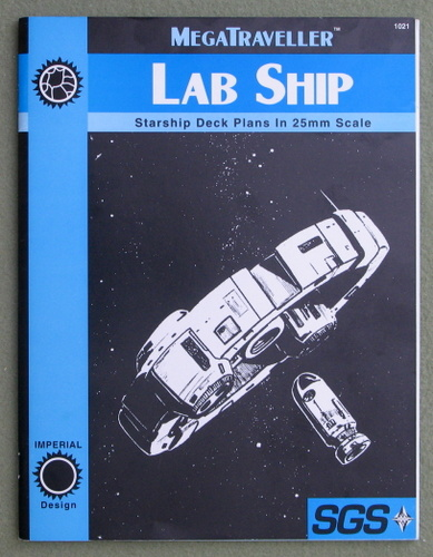 Image for MegaTraveller Laboratory (Lab) Ship Deck Plans