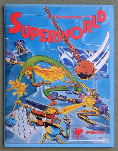 Image for A Companion to Superworld