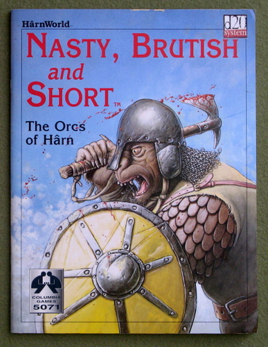 Image for Nasty, Brutish, and Short: The Orcs of Harn (HarnWorld) - PLAY COPY