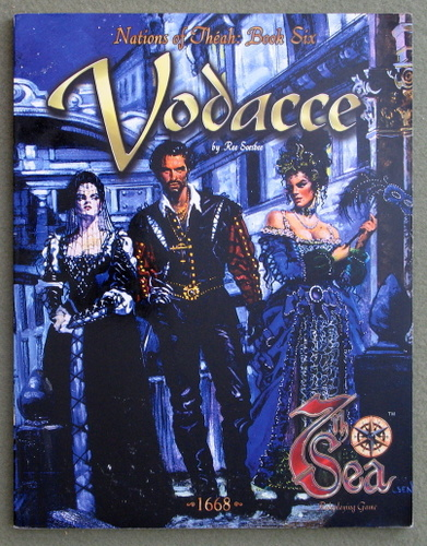 Image for Vodacce (7th Sea: Nations of Théah, Book 6)