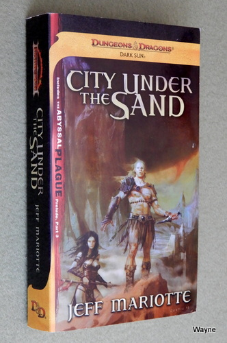 Image for City Under the Sand (Dungeons & Dragons: Dark Sun Novel)
