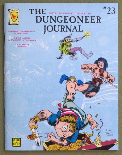 Image for The Dungeoneer Journal, Issue 23 (Oct/Nov 1980)