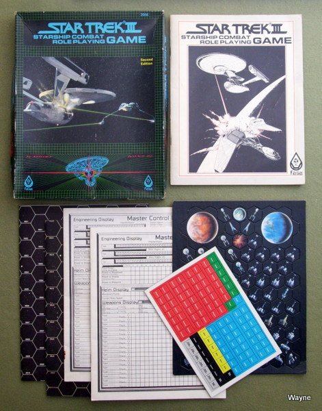 Image for Star Trek III Starship Combat Role Playing Game (2nd Edition)