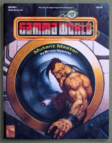 Image for Mutant Master (Gamma World, 4th Edition)