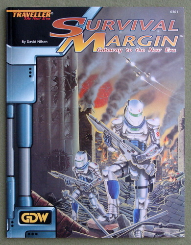 Image for Survival Margin (Traveller: The New Era)