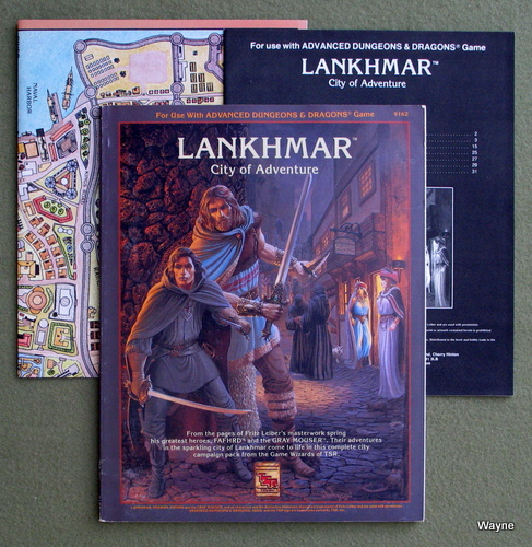 Image for Lankhmar, City of Adventure (Advanced Dungeons & Dragons sourcebook)
