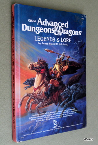Image for Legends & Lore (Advanced Dungeons & Dragons, 1st Edition)