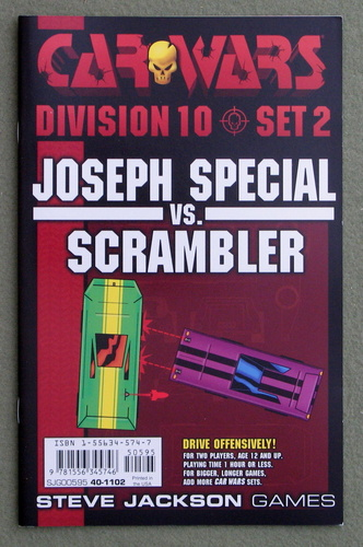 Image for Car Wars Division 10 Set 2: Joseph Special vs. Scrambler