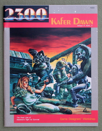 Image for Kafer Dawn (2300AD role playing game)