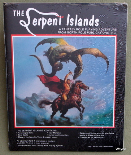 Image for The Serpent Islands: A Fantasy Role Playing Adventure