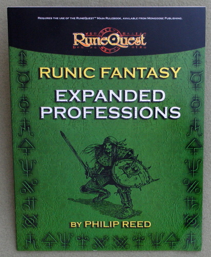 Image for Runic Fantasy: Expanded Professions (Runequest)