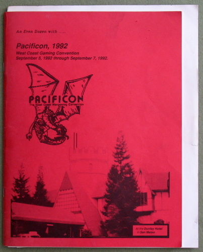 Image for Pacificon 1992: West Coast Gaming Convention
